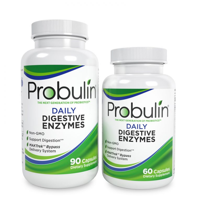 Daily Digestive Enzymes Capsules
