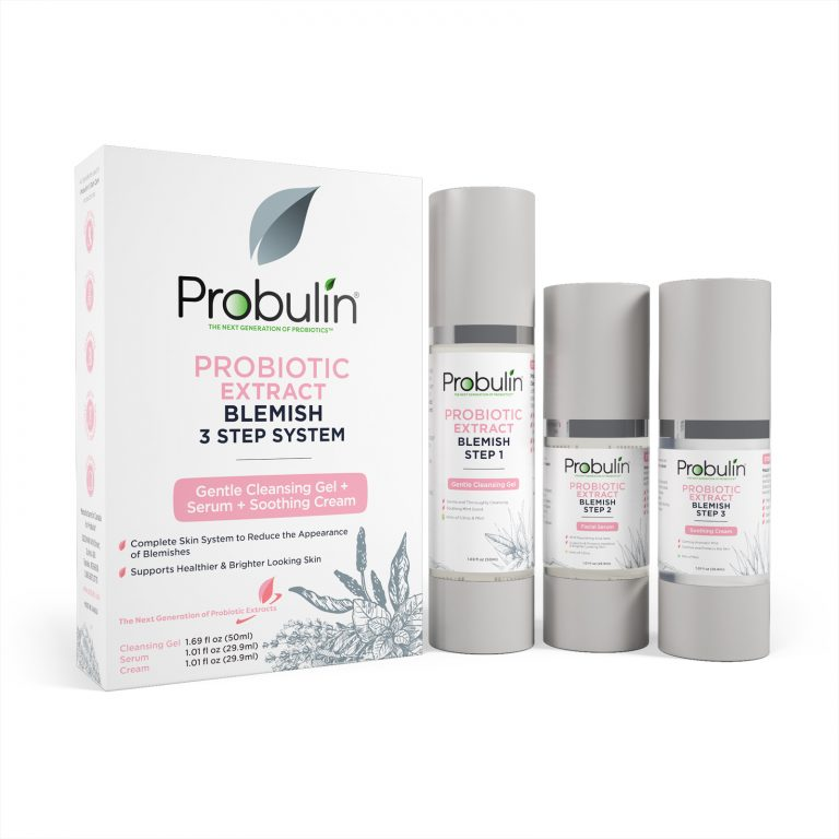 Probiotic Extract Blemish 3 Step System