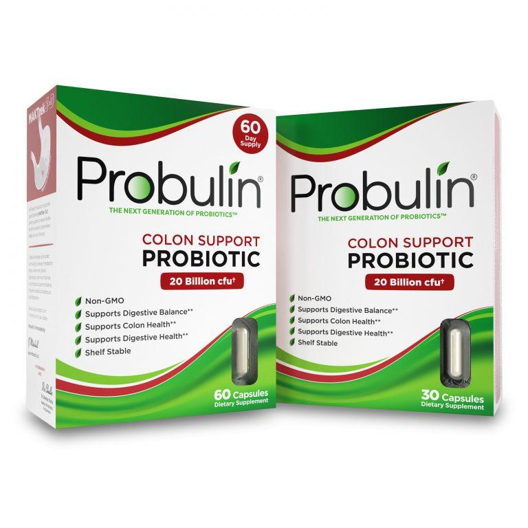 Colon Support Probiotic Capsules