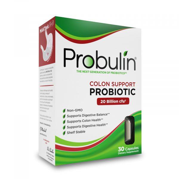 Probulin® Colon Support Probiotics - 30 Capsules