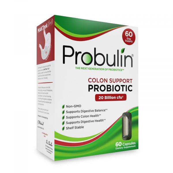 Probulin® Colon Support Probiotics - 60 Capsules